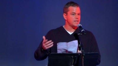 Matt Damon - howard zinn speech - discurso - 1970