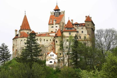 File photograph of a general view of Bran Castle, also known as Dracula's Castle, in Carpathian mountains