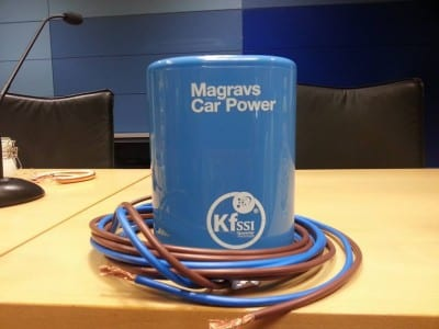 Magrav Car Power